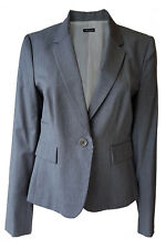 *JOSEPH* GREY WOOL MIX JACKET 42