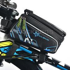 RockBros Bike Frame Pannier Front Bag For 6.0' Touch Screen Mobile Phone Bag