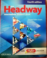 Oxford NEW HEADWAY Intermediate FOURTH ED Student's Book With iTutor DVD-ROM