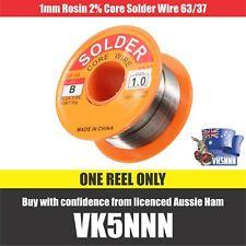 1mm Rosin Core Solder 63/37 Flux Welding Iron Wire / Solder Flux Core / Aussie