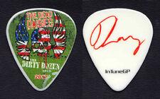 The Dead Daisies David Lowry Signature Guitar Pick #2 - 2017 Dirty Dozen Tour