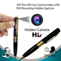 HD Mini DV DVR Cam Surveillance Pen Video Camera Recorder Nanny Camcorder