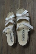 MEPHISTO Women's Sandals Size 40 US 9-9.5 Pre-Owned Neutral Colors