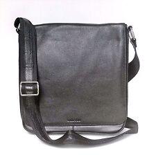 NEW Oroton Men Handbag Bag Satchel Messenger Chrysler Companion Leather Black