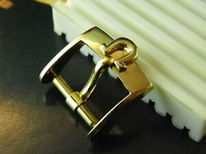 NOS 50'S OMEGA Constellation BIG LOGO 14MM GOLD PLATED WATCH BUCKLE