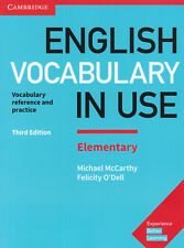 Cambridge ENGLISH VOCABULARY IN USE ELEMENTARY w Answers THIRD EDITION @New 2017