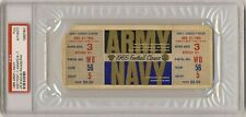 1965 ARMY NAVY football game Full ticket   PSA