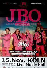 J.B.O. - JBO - 2014 - Konzertplakat - Nur die Besten werden Alt - Tourposter - K