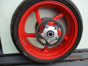 Aprilia  RSV Mille Tuono RP Hinterrad mit Bremsscheibe u. Kettenrad  20400 km