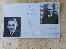 More details for jack train bbc radio comedian itma legend hand-signed photocard
