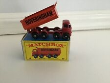 Matchbox Lesney Foden HOVERINGHAM 8 wheel Tipper 17d Mint in Box.