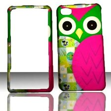 Green Owl Apple  iPhone Iphone 4 4S  Case Cover Hard Phone Snap on Case