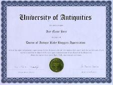 Doctor Hummingbird Appreciation Novelty Diploma Feeder