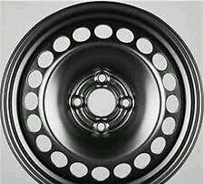 Cerchi in ferro 15 Fiat grande Punto