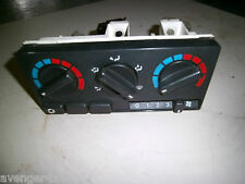 LAND ROVER DISCOVERY 300 TDI HEATER CONTROL PANEL UNIT BLACK WITHOUT AIR CON (F6
