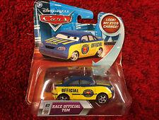 """Disney"" Pixar Cars Race Official Tom #57 Unique Car - New"