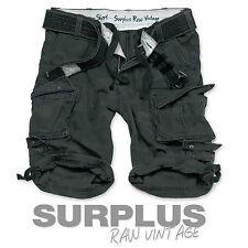 Surplus Division Pantaloncini Cargo da Uomo Esercito Combattimento Pantaloni al ginocchio /& Cintura DELUXE