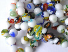 FREE SHIP 100PCS Mixed Color Millefiori Glass Loose Beads 6mm JK0256