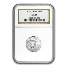 1/4 oz Platinum American Eagle MS-69 NGC (Random Year) - SKU #63739