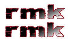 Pair of Polaris RMK Snowmobile  Window or body Graphic 08 09 10