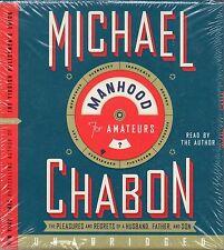 "MICHAEL CHABON ""MANHOOD FOR AMATEURS"" 7 CD AUDIOBOOK 2009 harper sealed"