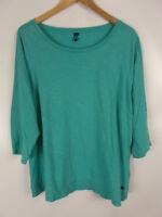 CECIL Shirt, grün, Größe L, 100% Baumwolle