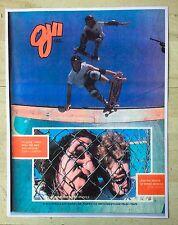 Alva John Gibson Craig Johnson Oj Ii Skateboard Wheels Doubles Ad Mini Poster