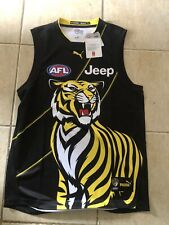 Richmond Tigers 2019 Training Guernsey Large Made By Puma Brand New With Tags