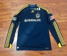 Beckham, 09-10 LA Galaxy Away LS Formotion Player Issue Shirt Size L NWT