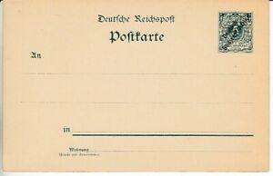 Allemand Südwestafrika Entier Postal P 1