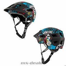 2021 ONeal Defender Wild Multi Schwarz Fahrrad Helm All Mountain Bike Trail MTB