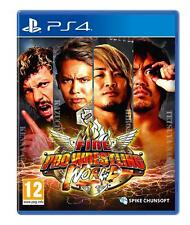 Fire Pro Wrestling World Ps4 Game -