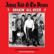 Johnny Kidd & The Pirates LP on 180g Transparent Vinyl Record Shakin' All Over