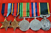 WW2 BRITISH/INDIAN ARMY OFFICERS MEDAL GROUP TERRITORIAL MEDAL