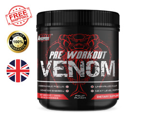 Pre Workout Venom The No1 Pre Workout Supplement Made In The UK Premium Quality