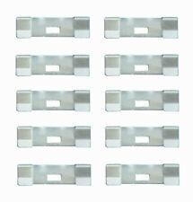 10 Pack VERTICAL BLIND Vane Saver Zinc CURVED REPAIR CLIPS ~ Fixes Broken Holes