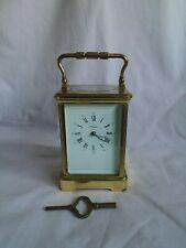 Carro Reloj Reloj l'epee grande en buenas condiciones de funcionamiento con llave