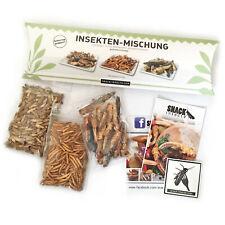 ESSBARE INSEKTEN MIX  Heuschrecken, Mehlwürmer & Grillen von Snack-Insects