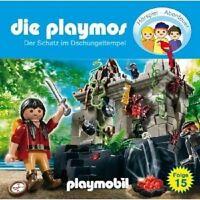 DIE PLAYMOS - SCHATZ IM DSCHUNGELTEMPEL (15) CD NEU