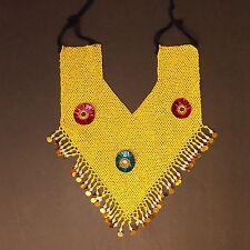 Belly Dance Bellydance Kuchi Tribal Beaded NECKLACE 809t4