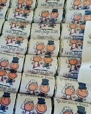 Personalised Mini Polo Mints Wedding Favours/Sweets CARTOON PEOPLE 👫