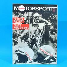 DDR Illustrierter Motorsport IMS 11/1976 Volvo 343 Six Days Frohburg Wasserski