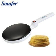 Electric Crepe Maker Pizza Pancake Machine NonStick Griddle Baking Pan Cake tool