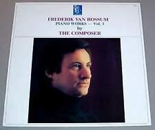 FREDERIK VAN ROSSUM LP - Piano Works Vol.1