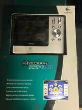 Logitech Harmony 1000 Universal Remote Control (966230-0914) w' all accessories