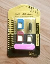 5-in-1 Sim Karten Adapter Set - Neu in ungeöffneter OVP