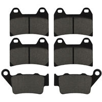 3 Pairs Front Rear Brake Pads Kit For BMW F800S F800ST 2006 2007 2008