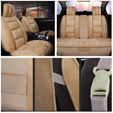 Durable 3D Car Seat Covers Interior Accessories Decor Cushion Artificial Plush