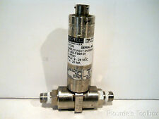 Used Sensotec Pressure Transducer 060-F999-01, FDW2AT.2N5B6A9D, 5 PSIG, 4-20mA