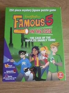 """Vintage Famous Five """"The Case of the Impolite Snarly Thing"""" mystery Puzzle Game."""
